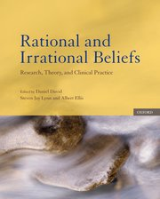 Cover for Rational and Irrational Beliefs