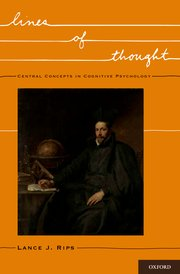 Cover for   Lines of Thought