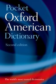 Cover for   Pocket Oxford American Dictionary