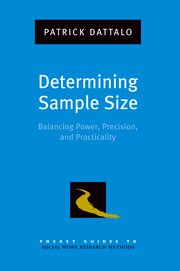 Cover for   Determining Sample Size