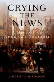 Cover for   Crying the News
