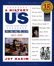 Cover for   A History of US: Reconstructing America