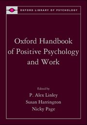Cover for   Oxford Handbook of Positive Psychology and Work