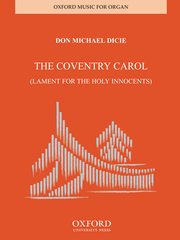Cover for   Coventry Carol