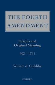 Cover for   The Fourth Amendment