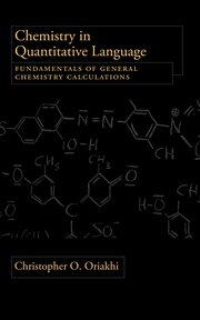 Cover for   Chemistry in Quantitative Language