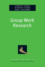 Cover for   Group Work Research