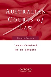 Cover for   Australian Courts of Law 4e