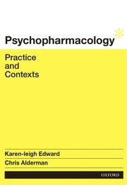 Cover for   Psychopharmacology: Practice and Contexts