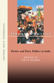 Cover for   Parties and Party Politics
