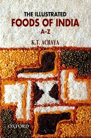 Cover for   The Illustrated Foods of India