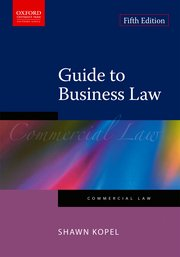 Cover for   Guide to Business Law