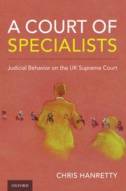 Cover for   A Court of Specialists