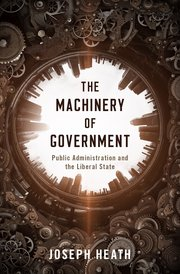 Cover for   The Machinery of Government