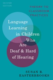 Cover for   Language Learning in Children Who Are Deaf and Hard of Hearing