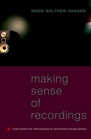 Cover for   Making Sense of Recordings