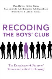 Cover for   Recoding the Boys Club