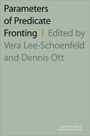 Cover for   Parameters of Predicate Fronting