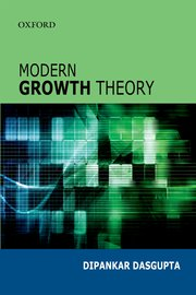 Cover for   Modern Growth Theory