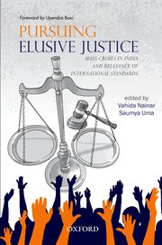 Cover for   Pursuing Elusive Justice