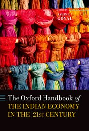 Cover for   Handbook of the Indian Economy in the 21st Century