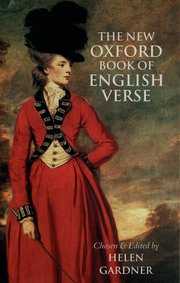 Cover for   The New Oxford Book of English Verse, 1250-1950