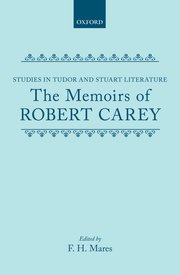 Cover for   The Memoirs of Robert Carey