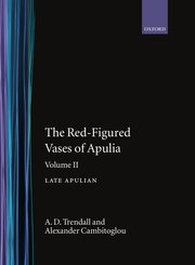 Cover for   The Red-Figured Vases of Apulia.