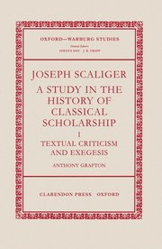 Cover for   Joseph Scaliger