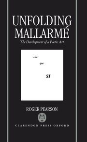 Cover for   Unfolding Mallarmé