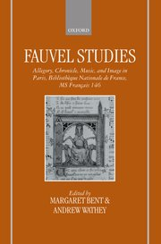 Cover for   Fauvel Studies