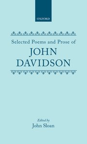 Cover for   Selected Poems and Prose of John Davidson