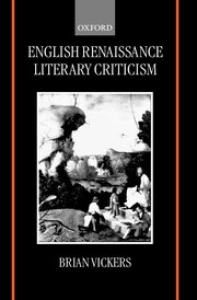 Cover for   English Renaissance Literary Criticism