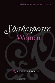 Cover for   Shakespeare and Women