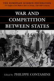 Cover for   War and Competition between States