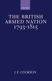 Cover for   The British Armed Nation, 1793-1815