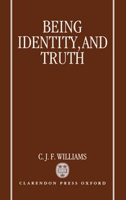 Cover for   Being, Identity, and Truth