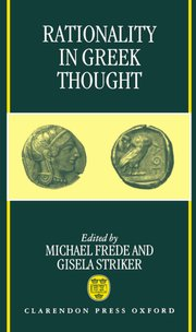 Cover for   Rationality in Greek Thought