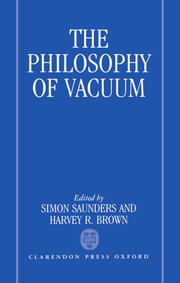 Cover for   The Philosophy of Vacuum