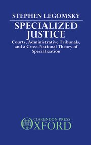 Cover for   Specialized Justice