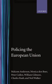 Cover for   Policing the European Union