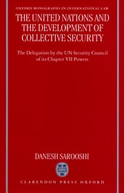 Cover for   The United Nations and the Development of Collective Security