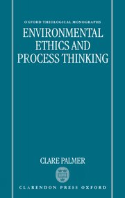 Cover for   Environmental Ethics and Process Thinking