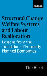 Cover for   Structural Change, Welfare Systems, and Labour Reallocation