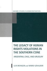 Cover for   The Legacy of Human Rights Violations in the Southern Cone