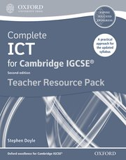 Cover for   Complete ICT for Cambridge IGCSE Teacher Pack