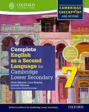 Cover for   Complete English as a Second Language for Cambridge Secondary 1 Student Book 7 & CD