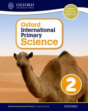 Cover for   Oxford International Primary Science Stage 2: Age 6-7 Student Workbook 2