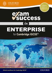Cover for   Exam Success in Enterprise for Cambridge IGCSERG