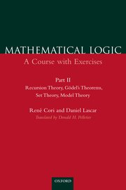 Cover for   Mathematical Logic: A Course with Exercises